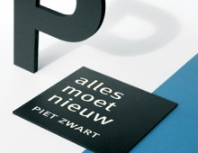 Filmaffiche: Alles moet nieuw – Piet Zwart